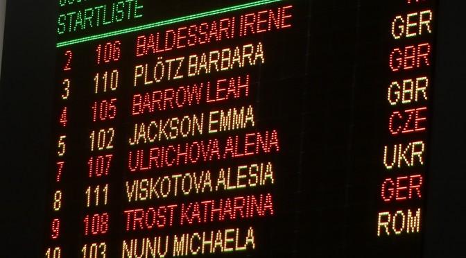 Erster internationaler Auftritt mit Bestzeit für Barbara Plötz