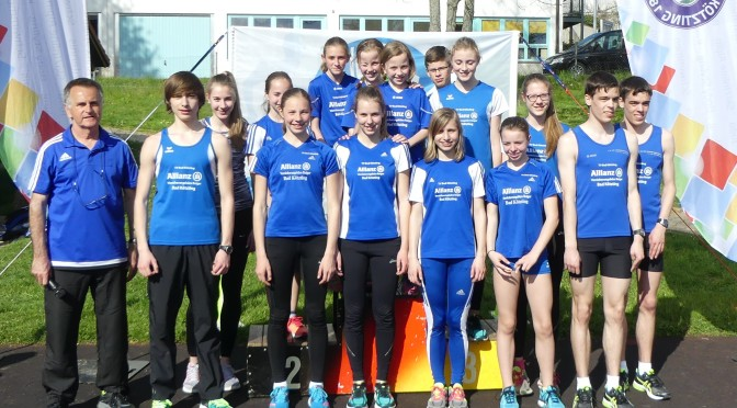 Kreismeisterschaften – Neuer Oberpfalzrekord durch Alicia Inhofer