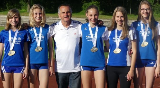 Leichtathletinnen in Rekordlaune bei bayerischen Blockmehrkampf-Meisterschaften