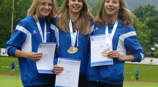 Siebenkampftrio aus Bad Kötzting gewinnt bayerische Meisterschaft