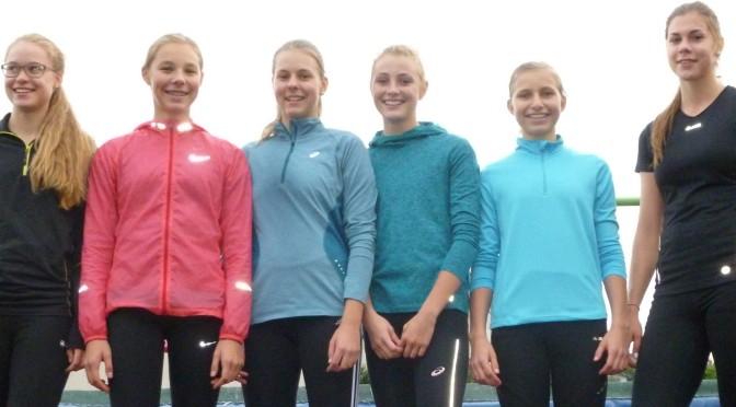 Leichtathleten in Auswahlmannschaften erfolgreich