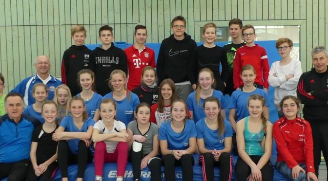 Oberpfälzer Nachwuchskader in Bad Kötzting