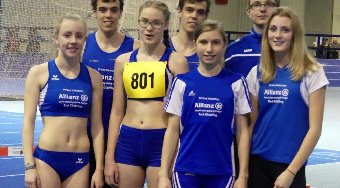 11 Podestränge bei nordbayerischer Hallenmeisterschaft