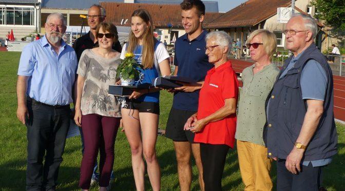 Barbara Plötz Nachwuchsleichtathletin des Jahres
