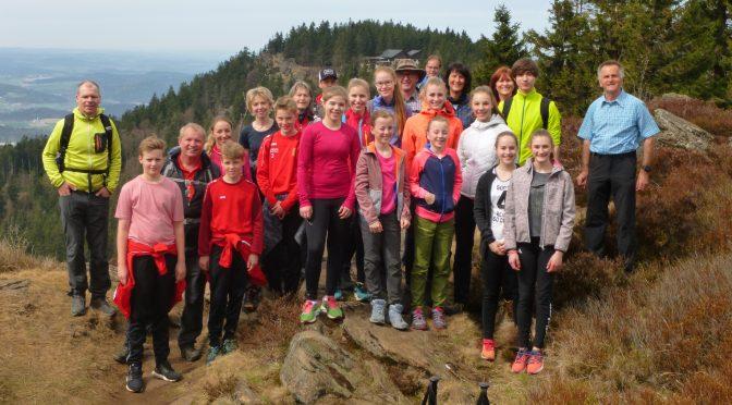 Leichtathleten auf Wanderschaft