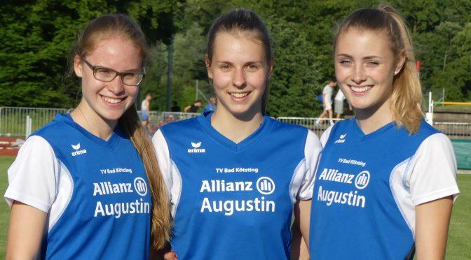 Anna Hofmann springt neuen Vereinsrekord