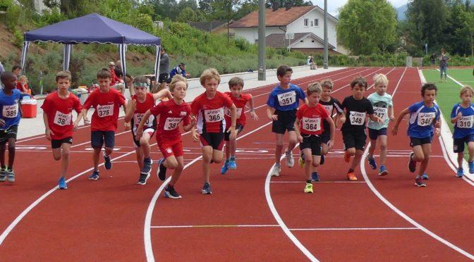Leichtathletiknachwuchs kämpfte um Titel