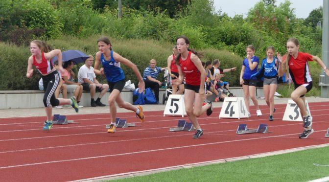 Teilnehmerrekord bei Leichtathletik-Stadtmeisterschaft
