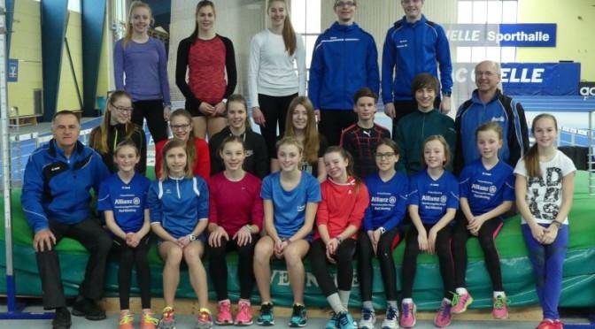 Trainingslager der Leichtathleten 2016