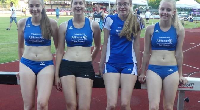 Starker Auftritt der 800m-Läuferinnen in Ingolstadt