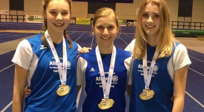 Gold, Gold, Gold für drei TV-Mädels