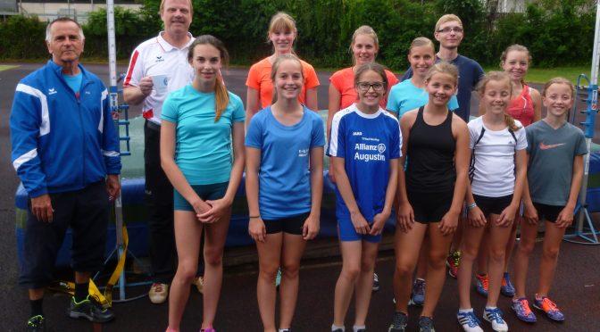 Training mit WM-Teilnehmerin