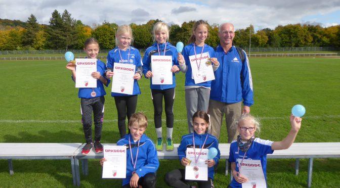 Bronze beim Bezirksfinale der Kinderleichtathletik