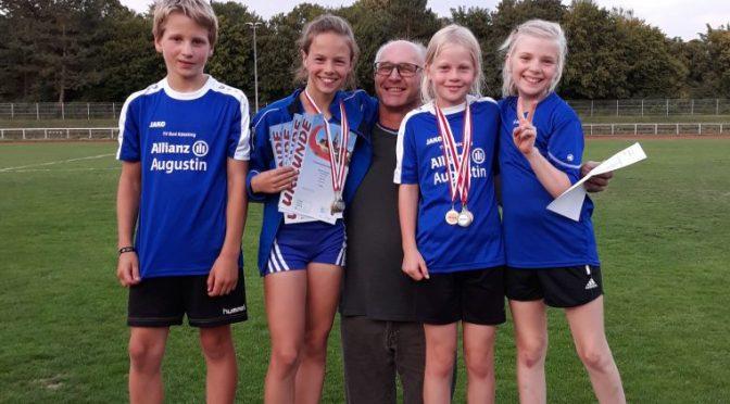 Schüler-Team holt 10 Medaillen